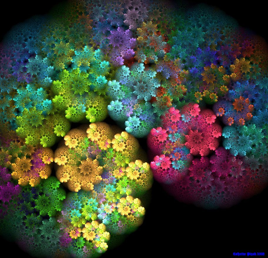 Fractal 'Watercolour'                                                       …