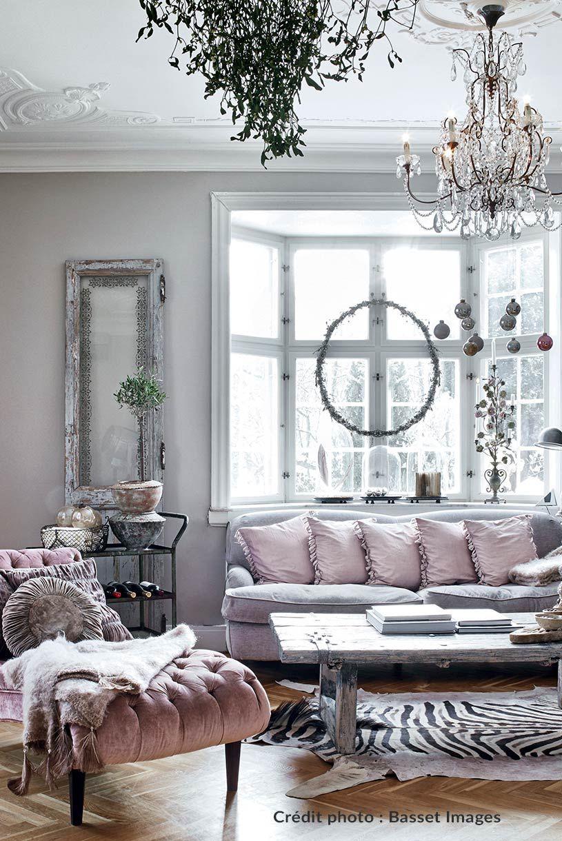 Chambre Style Shabby Romantique une maison de charme danoise version shabby chic | salon