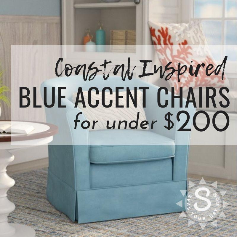 Best 99 Coastal Blue Accent Chairs Under 200 Blue Accent 400 x 300
