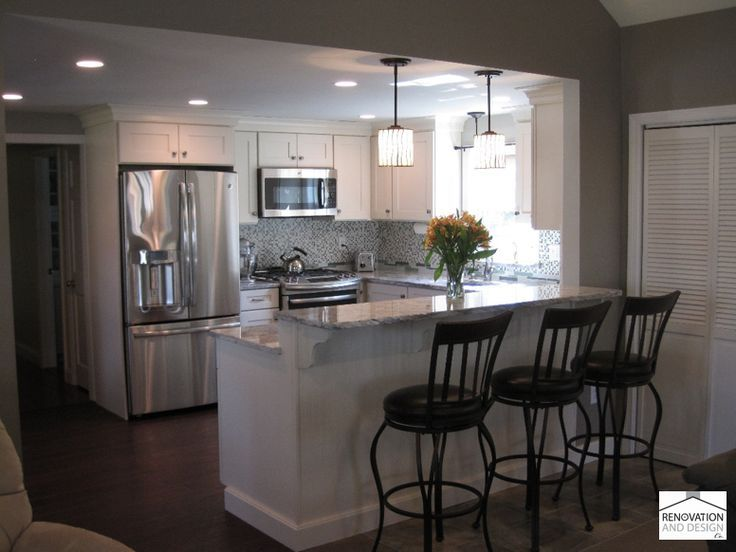 U Shaped Kitchen Layout With Peninsula transitional kitchen | google search, kitchens and google