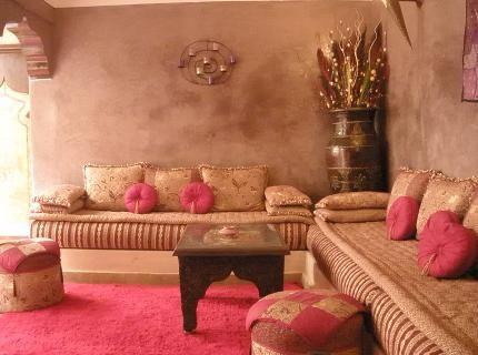 Riad Mille Et Une Nuits, Marrakech | salon maocain | Salon marocain ...