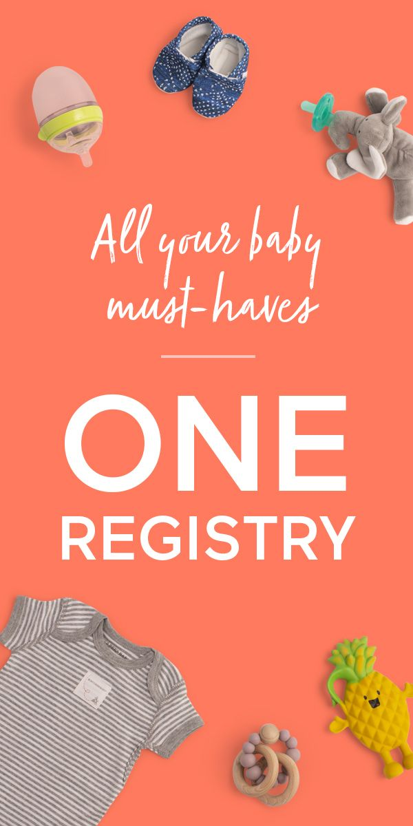 Any Item. Any Store. One Registry   Baby list, Universal ...