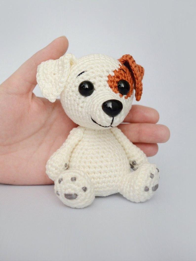 Jack Russell Terrier Crochet Pattern, Crochet Dog Pattern, Crochet ... | 1059x794