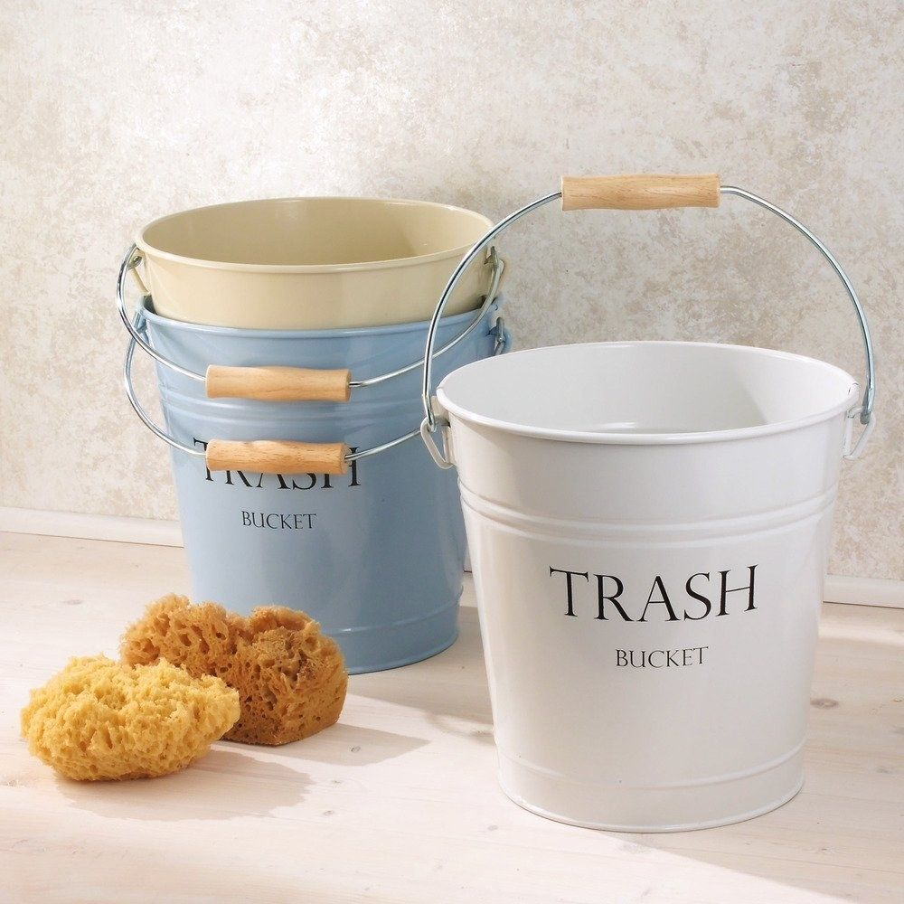 27 Things From Walmart You Never Knew You Needed For Your Bathroom Bucket Trash Containers Trash Bins