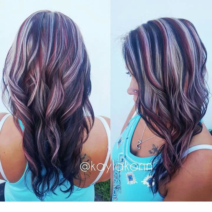 Love The Color Hair Styles Pinwheel Hair Color Hair Color 2017