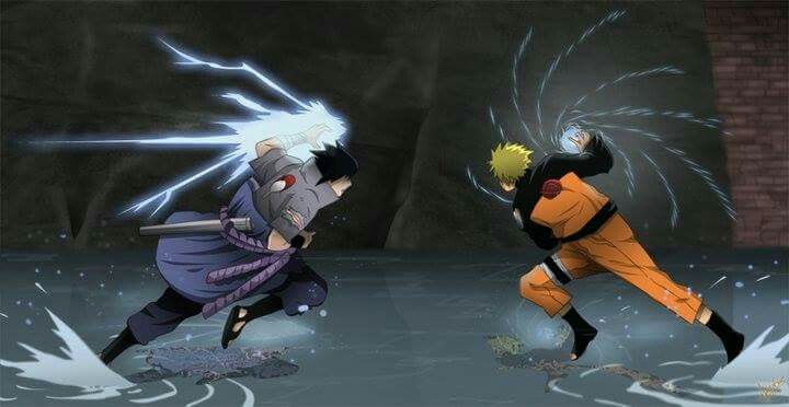 Sasuke, if you attack Konoha, then I will be forced to fight