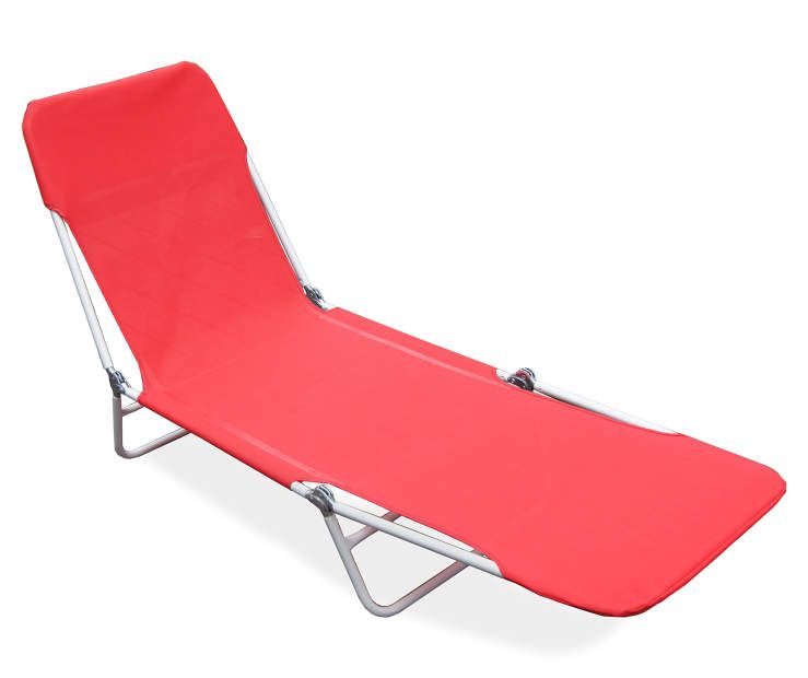 wilson fisher red sling folding patio