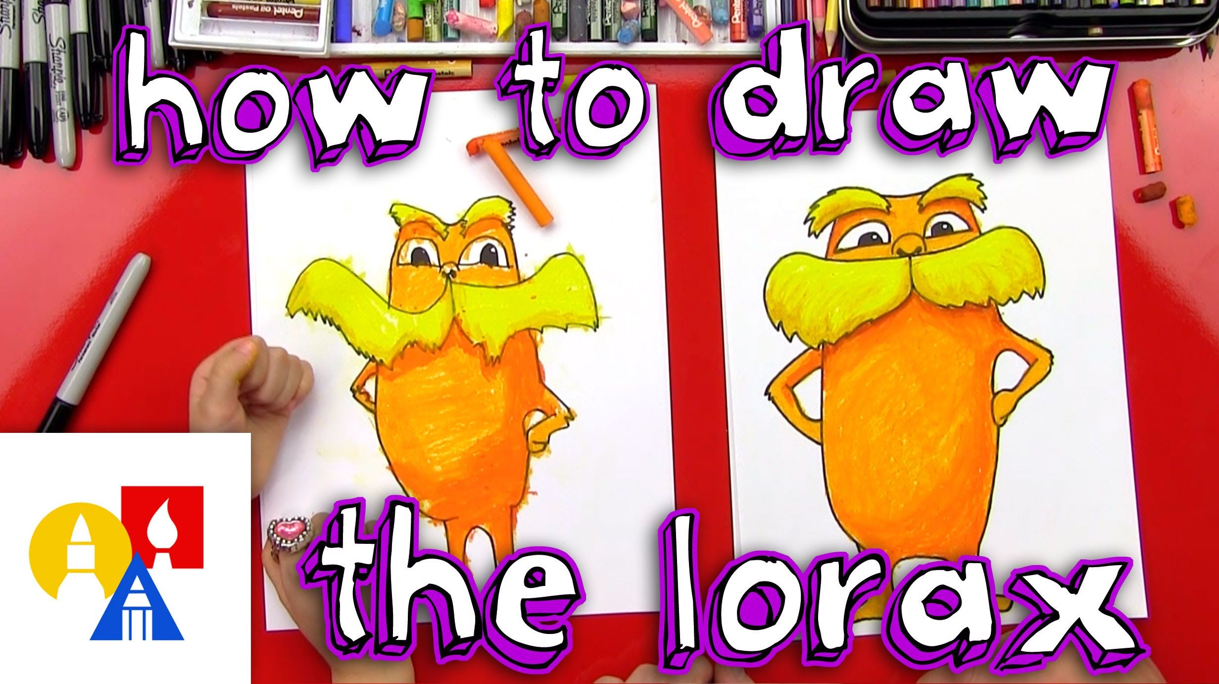 How To Draw The Lorax Great Directed Drawing Activity For