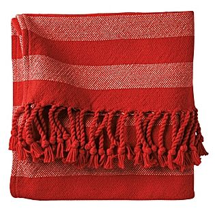 Poppy Awning Stripe Throw Perfect For Taking On A Boat Or Tailgating Striped Throw Striped Bedding Traditional Throws