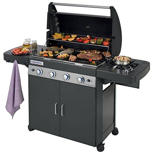 campingaz 4 series classic ls plus gas grill, black, 160 x 60 x