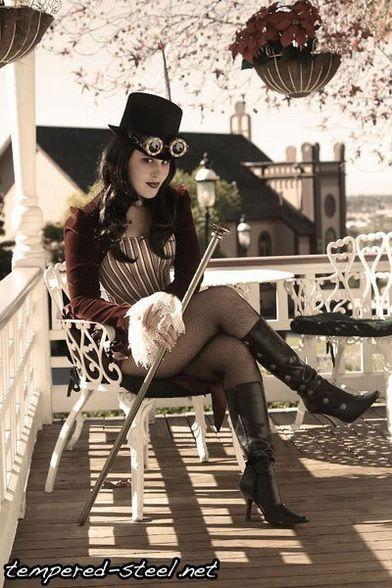 Steampunk Girl http://steampunk-girl.tumblr.com/