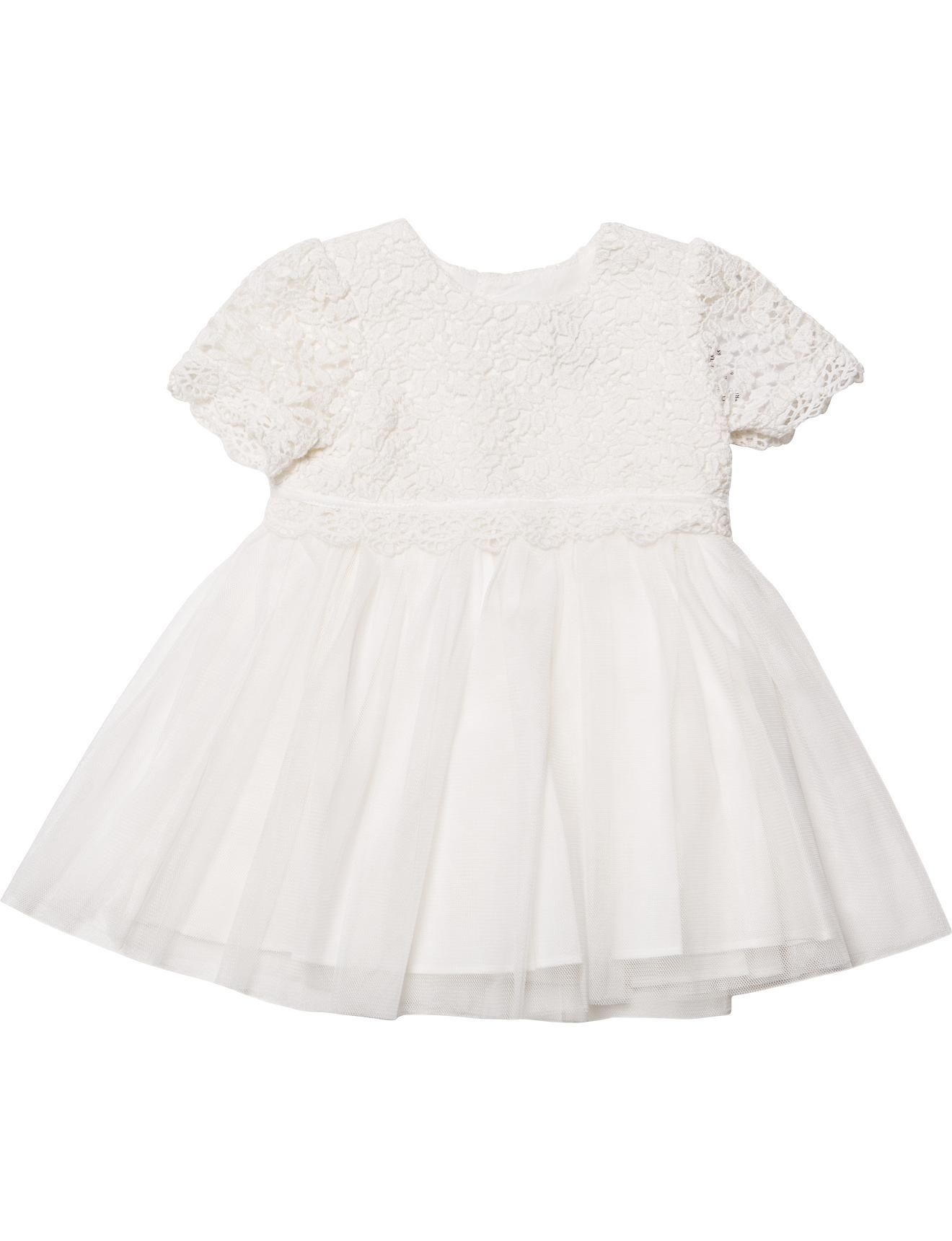 Bebe Lace Bodice Short Sleeve Dress | David Jones