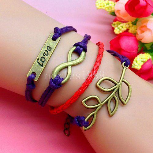 "Buy (1) Get (1) FREE! New Stylish Handmade Bracelet 7.5"" With 1.5"" Extender! Free Shipping! by MarysRingsAndThings on Etsy"