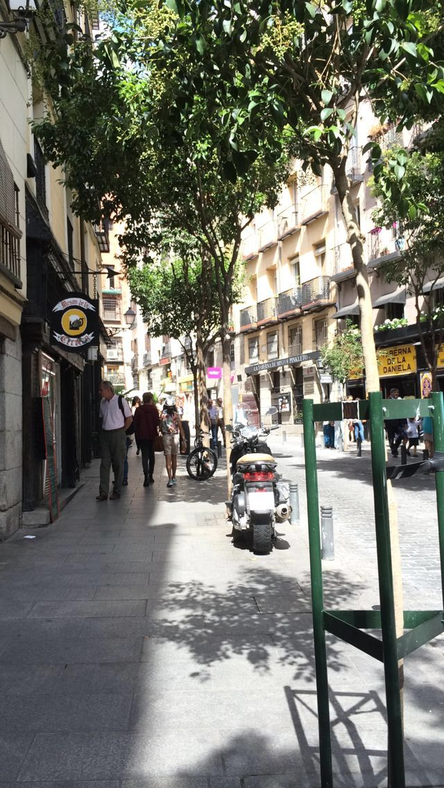Una calle de Madrid  (A street of Madrid, Spain)