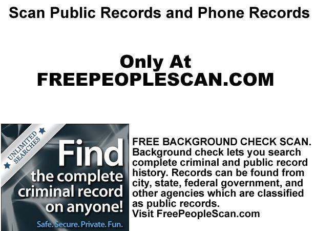 Free Criminal Record Check >> Free Background Check Online Guide How To Search All Public And