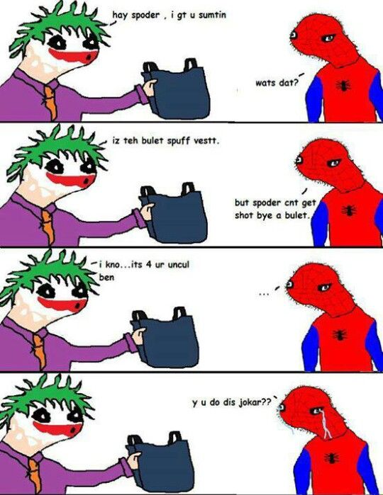 Spoderman Spoderman Pinterest Funny Funny Memes And Hilarious