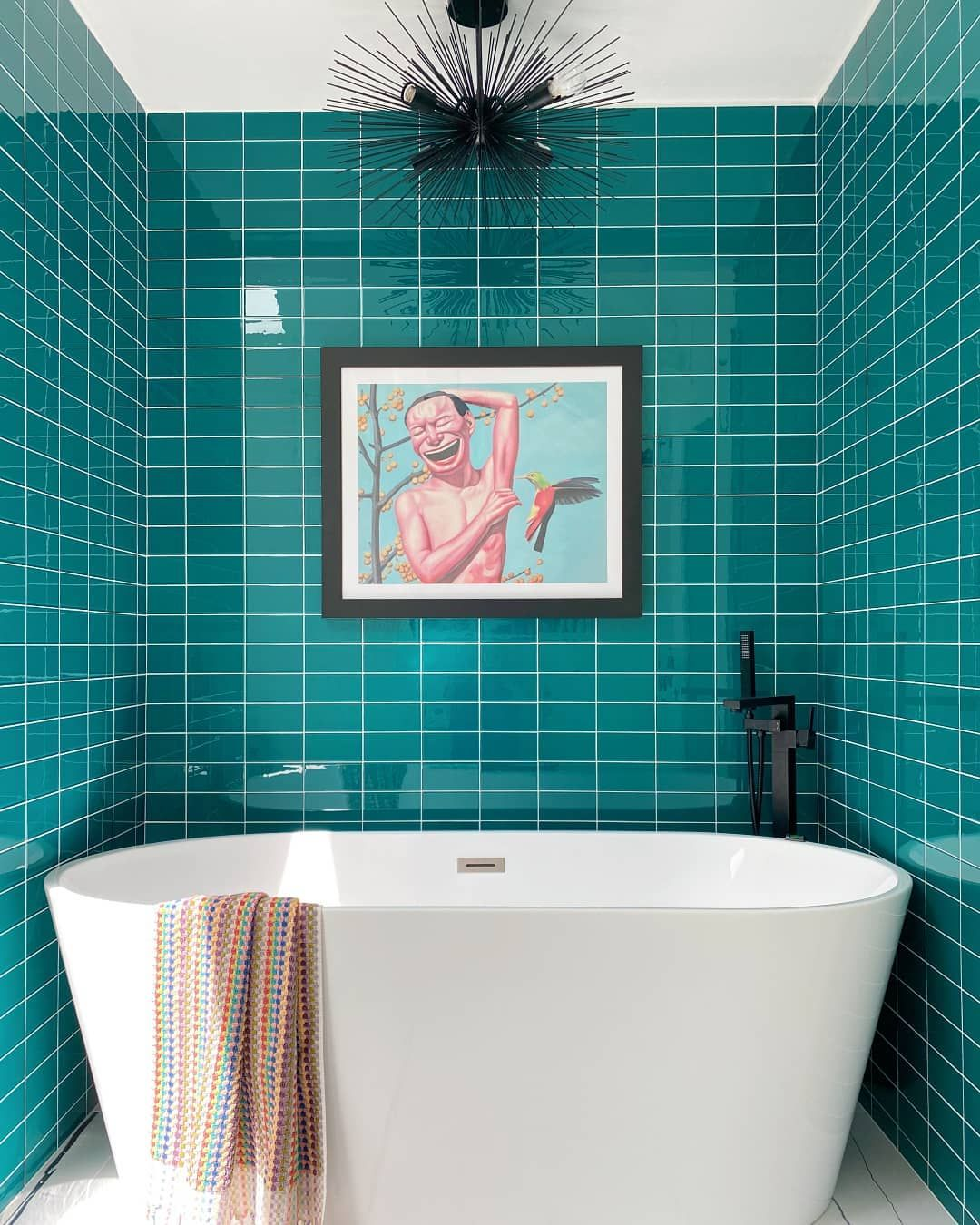 A Modern Take On Subway Tile In 2020 Bathroom Trends Bathroom Tile Designs Bathroom Renovations