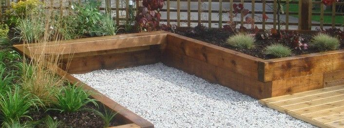 Ordinaire Tranquil Earth   Building Gardens With Railway Sleepers