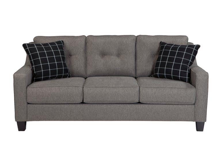 Signature Design By Ashley Sofa 5390138 Hamilton Sofa Store Charcoal Sofa Queen Sofa Sleeper Mattress Furniture
