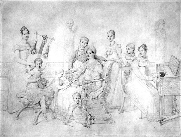 The Family of Lucien Bonaparte