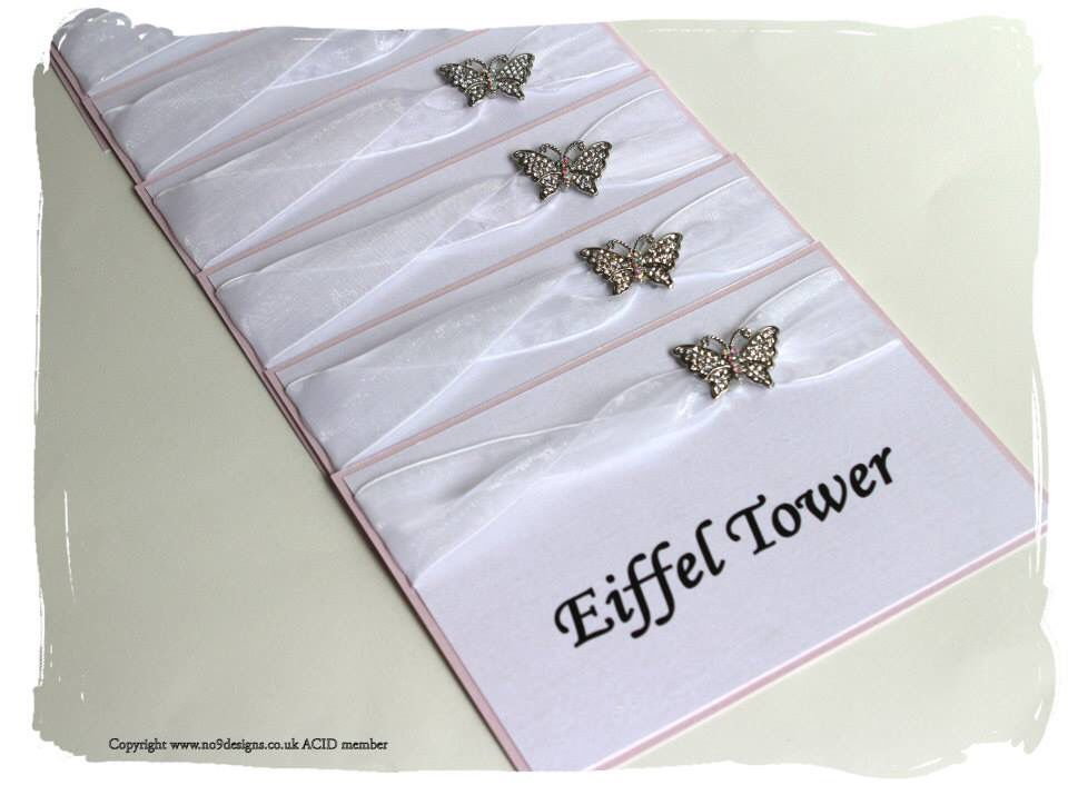 Twist ribbon and butterfly