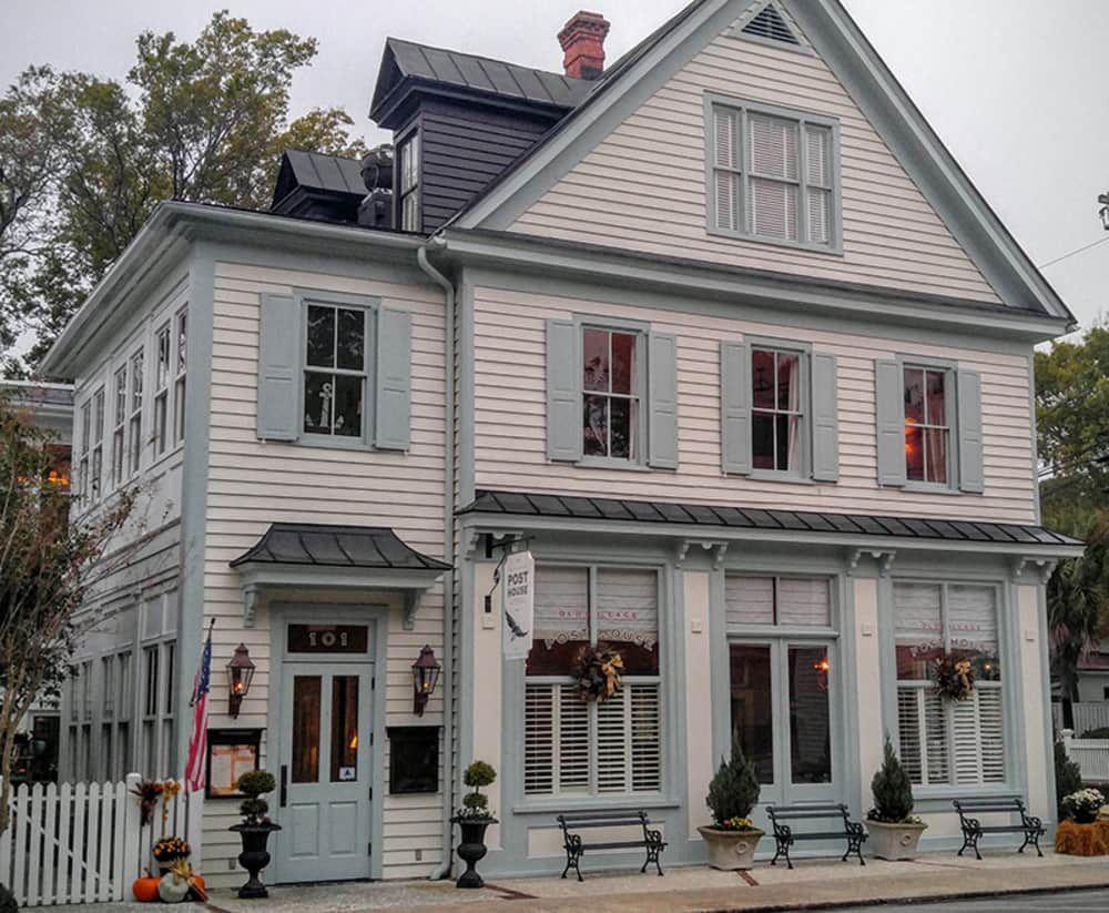 Old Village Post House Inn House Restaurant House Village