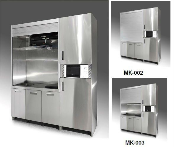 Free Standing Kitchenette Stainless Steel Kitchenette Mini