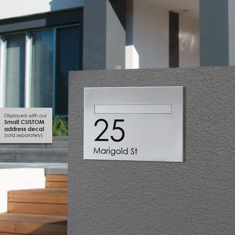 LOCKABLE STYLISH PARCELBOX GREY LARGE SECURE PARCEL//LETTER BOX  WEATHERPROOF