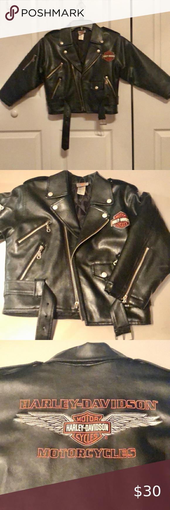 35 Harley Davidson Kids Motor Jacket Size 7 Harley Davidson Kids Harley Davidson Jacket Harley Davidson [ 1740 x 580 Pixel ]