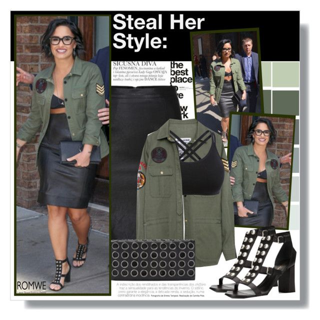 """""""Steal her style: Demi Lovato"""" by aminkicakloko ❤ liked on Polyvore"""