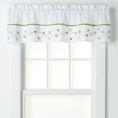 Kohl\'s ~ Clover Tier Kitchen Curtains | On line shopping ...