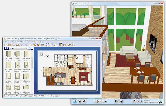 Room Arranger Design Room Floor Plan House Layout Also In 3d