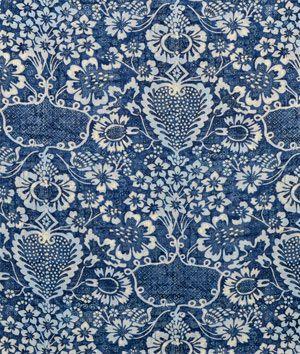 ralph lauren la garoupe indigo fabric ok so beautiful but out of my price range 1694 - Ralph Lauren Indigo