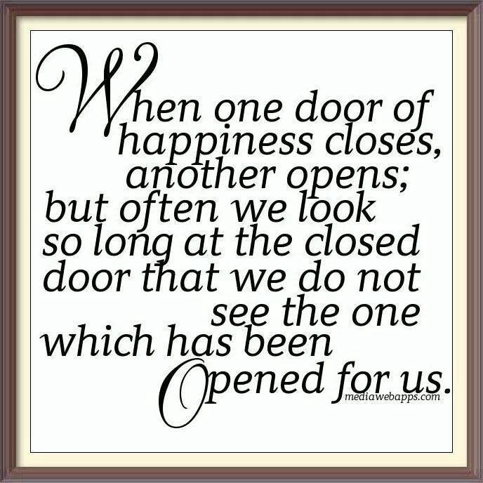 When God Closes One Door He Will Always Open Another Door Helen Keller Quotes Words Quotes Quotes