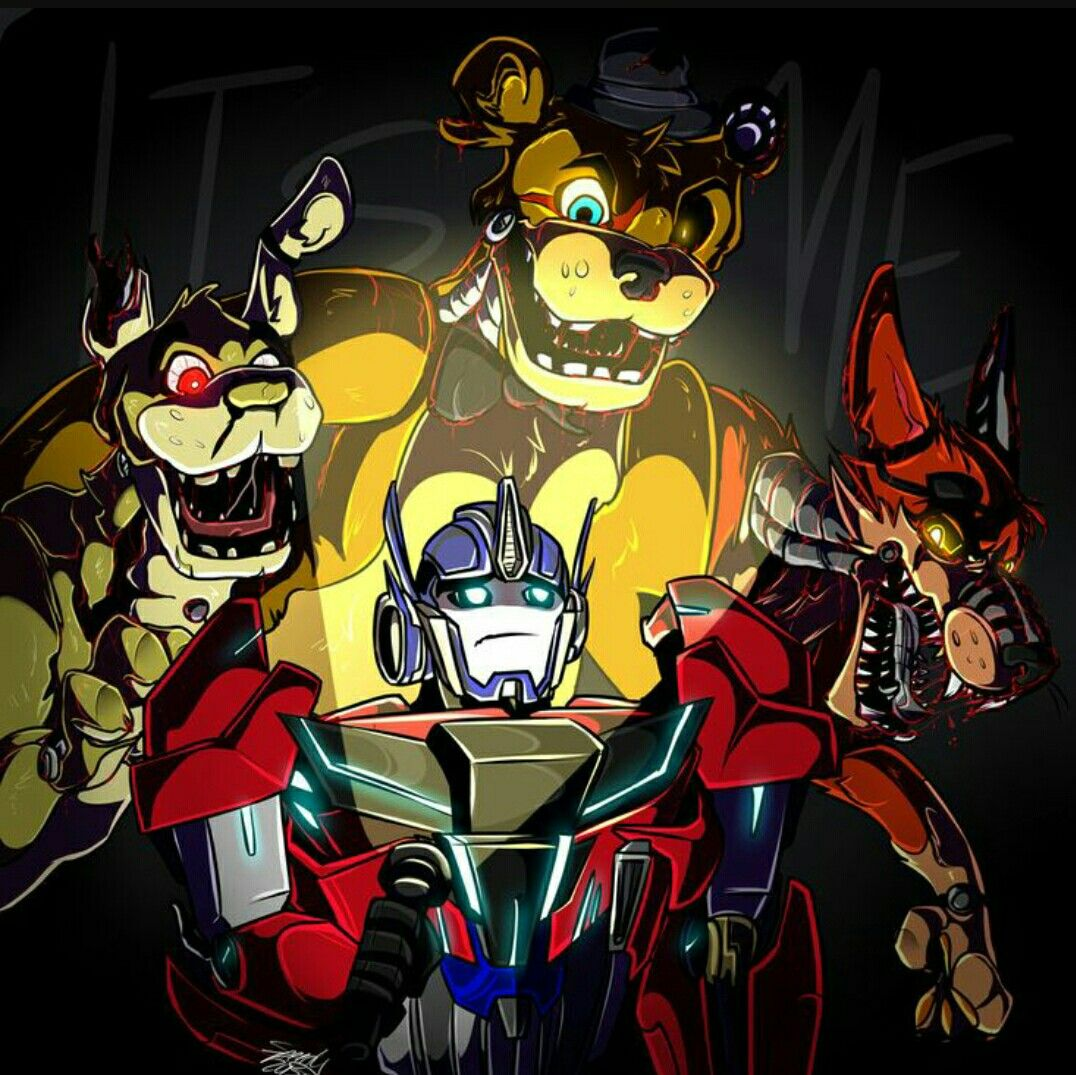 Transformers/Fnaf Crossover, Optimus Prime as night guard, OMG guys two of my favourite fandoms THIS NEEDS TO HAPPEN!!!