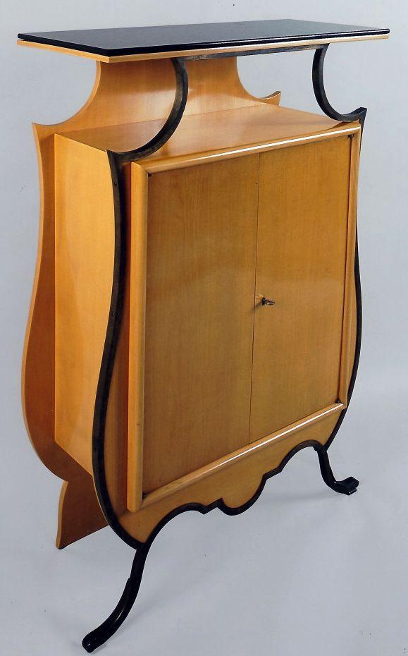Art d co eug ne printz meuble console 1935 art deco art nouveau in 2018 pinterest - Art deco meuble ...
