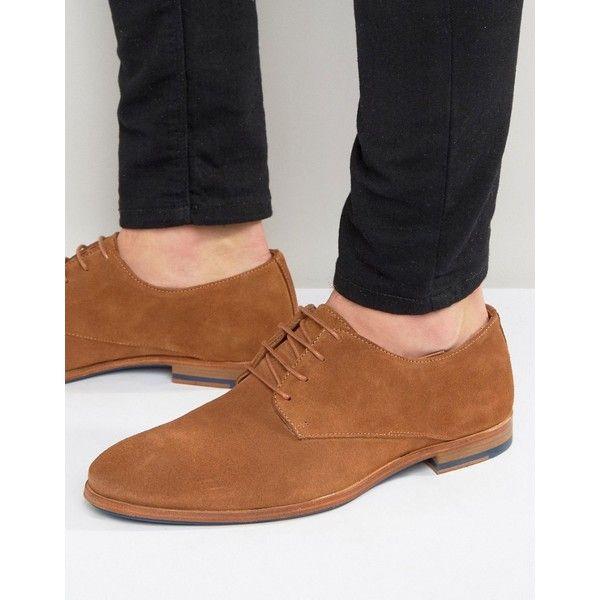Tan suede shoes, Dress shoes men, Derby
