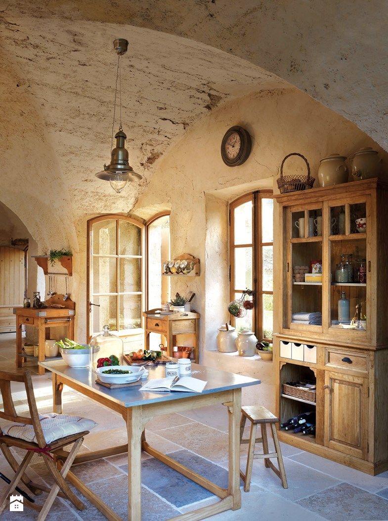 kuchnia styl rustykalny zdja™cie od comptoir de famille by