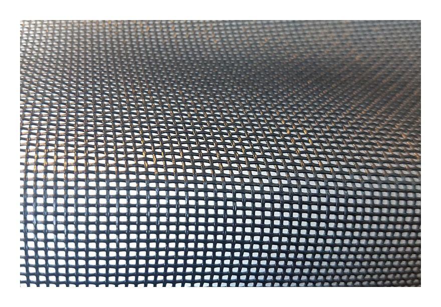 Rouleau Moustiquaire ANTIGRIFFE Au mètre Noir L150 cm 3232