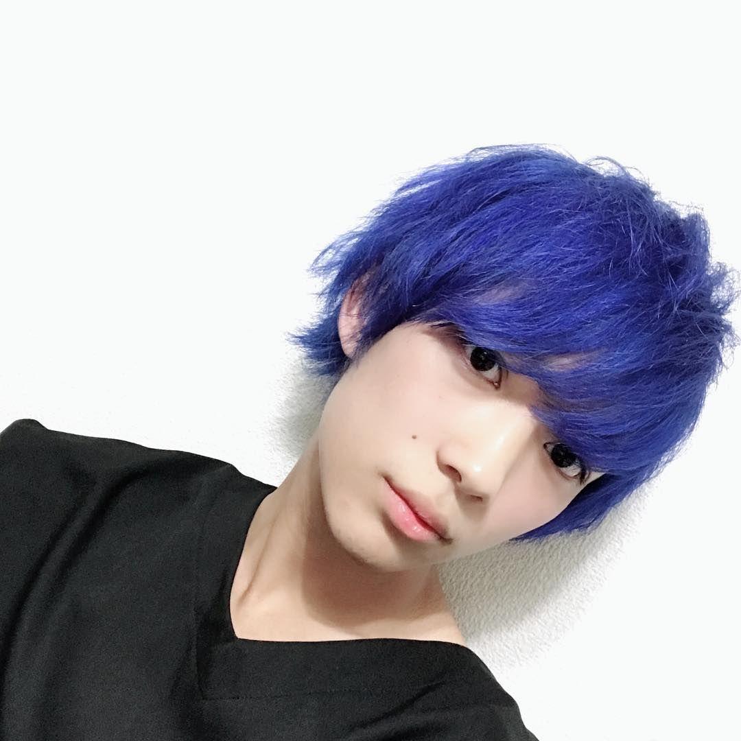青髪にしました Instahair Instgram Instagood 髪色 ヘアカラー