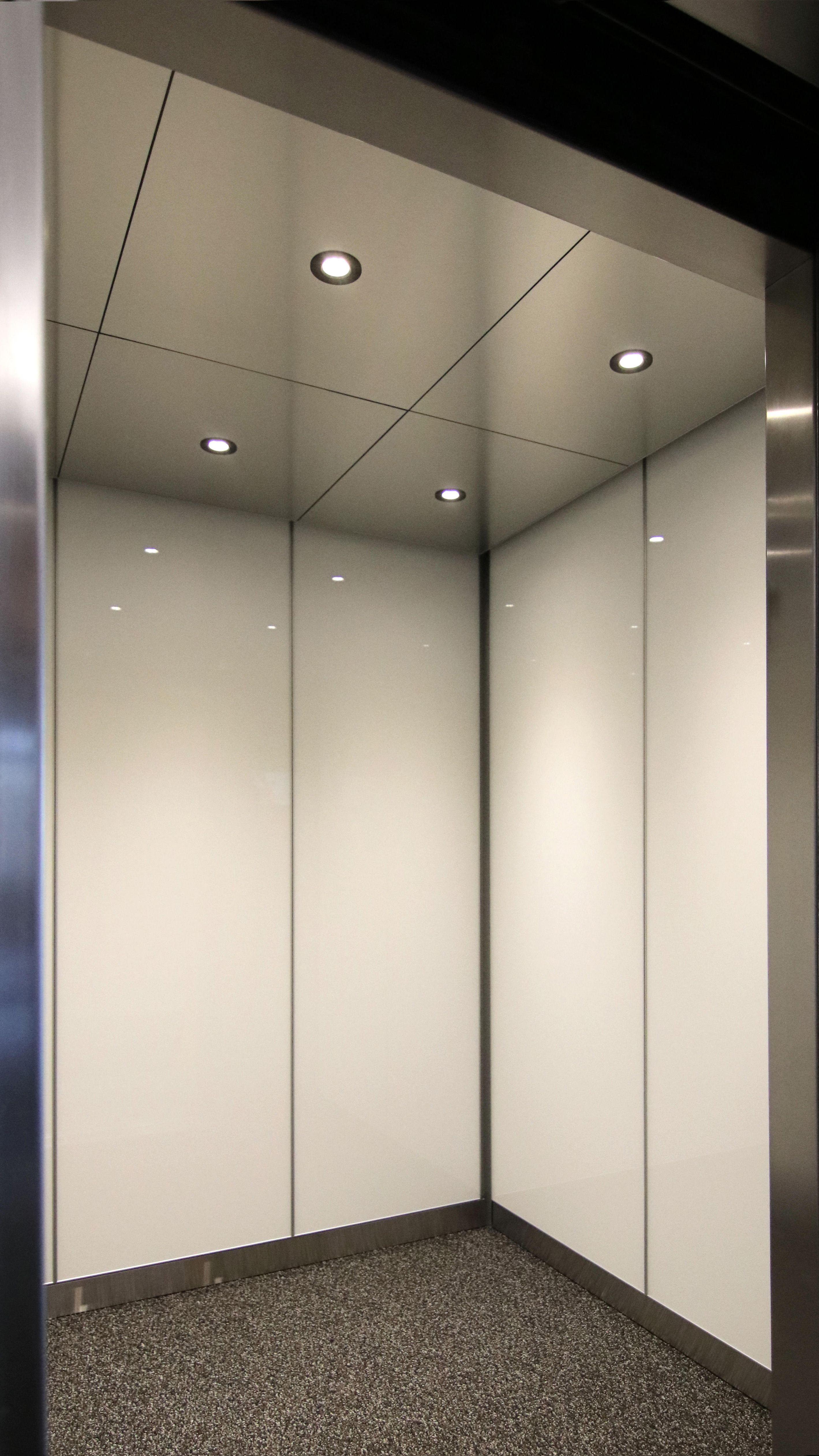 Simple Clean Elevator Interior Installation Elevator Interior