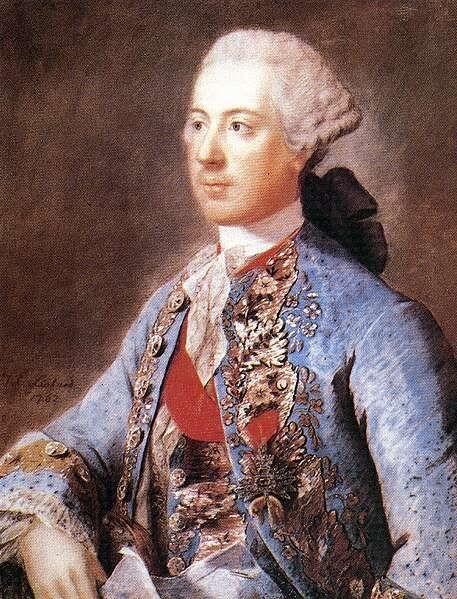 Joseph, the Empress' eldest son. Brother to Marie Antoinette.