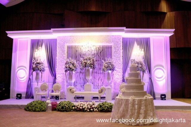 Purple themed wedding lighting decoration by delight led jakarta purple themed wedding lighting decoration by delight led jakarta instagram delightjkt junglespirit Image collections