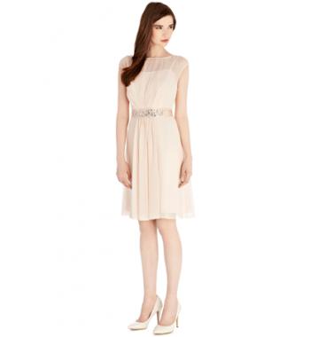 Coast Pink LORI LEE SHORT DRESS