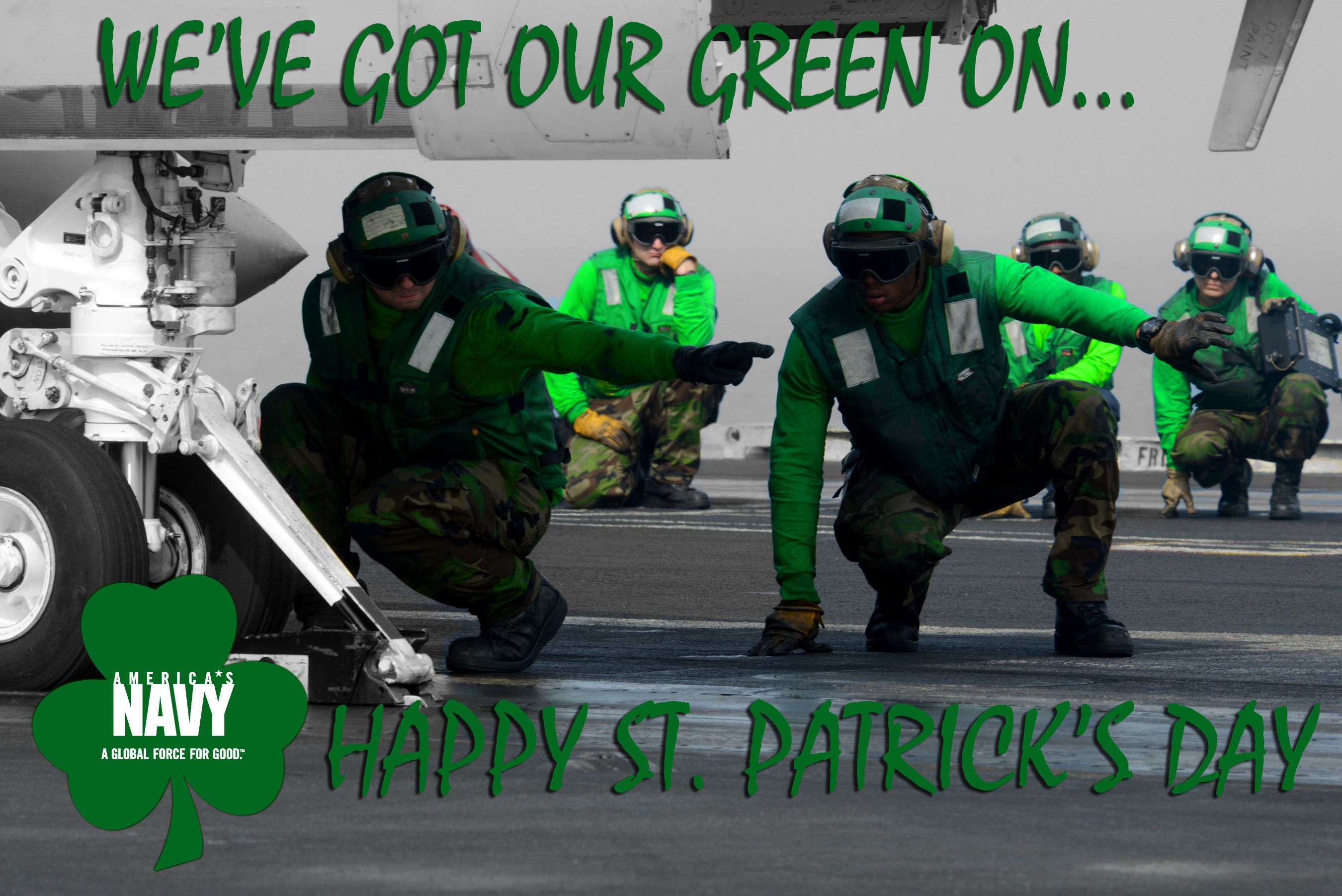 Happy St Patrick S Day From Your Navy Erin Go Braugh Navy Day