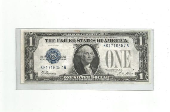 US America Series of 1928 A One Dollar Bill \
