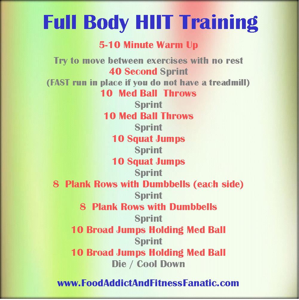 HIIT - (High Intensity Interval Training) is one of the ...