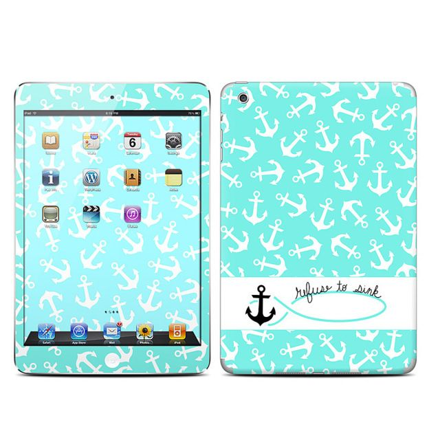 DecalGirl iPad Mini Matte Finish Skin Kit - Refuse to Sink