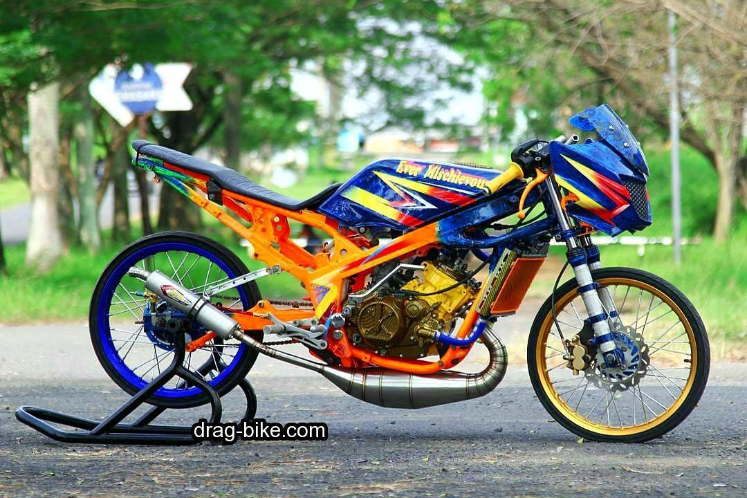 40 Foto Gambar Modifikasi Motor Ninja R Street Racing Thailook