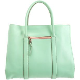 Madeleine Tote -- mint leather by Chloe, at barneys new york